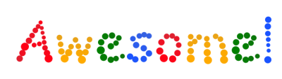 Create your own Google style bouncing balls !